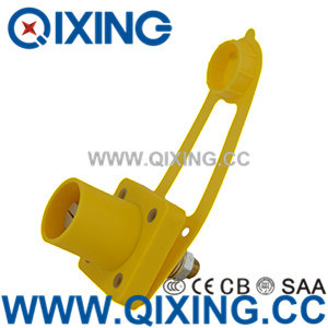 IEC60309 Large Current Yellow Rhino Horn Socket pictures & photos