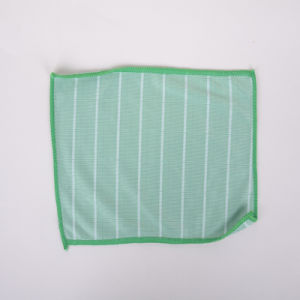 Custom, Green, Ultra-Fine Fiber Cleaning Cloth