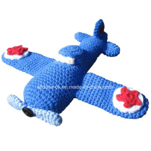 Hand Crochet Airplane Plane Aeroplane Amigurumi Toy pictures & photos
