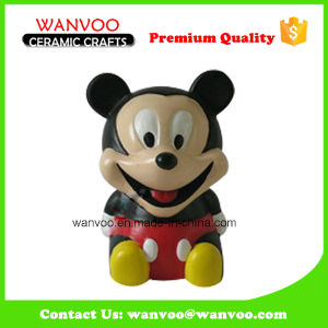 Handmade Mickey Sauce Bottle in Porcelain pictures & photos