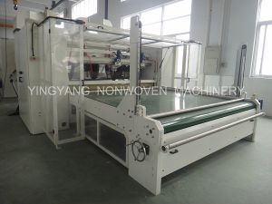 Yyzh-Guillotine Cutter&Winder Non Woven Machine pictures & photos