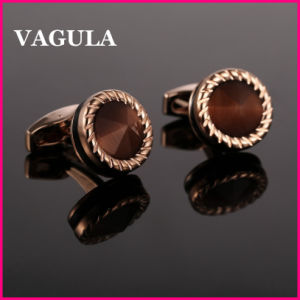 VAGULA Quality Catseye Gemelos Cuff Links L52505 pictures & photos
