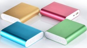 High Quality Universal Aluminum 10400mAh Power Bank for Xiaomi, Mi pictures & photos