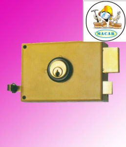 Double Cylinder Control Door Lock Italy 525n Brass Cylinder pictures & photos
