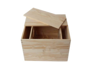 Carrier Crate Case Single Bottle Wine Box for Gift Decor pictures & photos