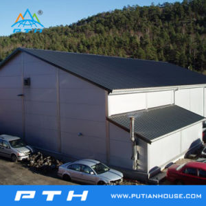 Long Life-Span Cheap Light Prefabricated Steel Structure Workshop pictures & photos