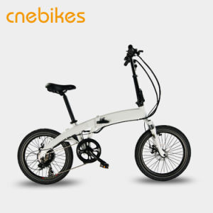 20 Inch 250W Power Mini Electric Folding Bikes pictures & photos
