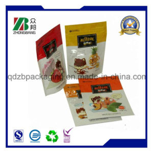 Plastic Stand up Pouch with Clear Window pictures & photos