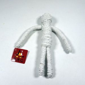 Braided Cotton Rope Snowman Pet Holiday Toy pictures & photos