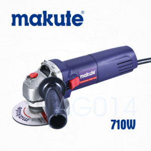 Hot Sale Makute Model 100mm Electric Wet Mini Angle Grinder pictures & photos