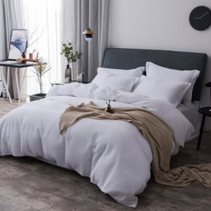 Pure Cotton Jacquard Waffle Bedding in Hotel Bed Linen China pictures & photos