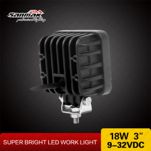 3′′ 18W IP68 CREE LED Heavy Duty Work Light pictures & photos