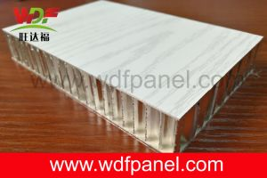Wooden Color Aluminum Honeycomb Panel for Interior Wall pictures & photos