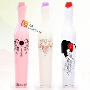 Lovely Print/Portable Perfume Bottle Gift Lady Umbrella (YS-3FB02A)