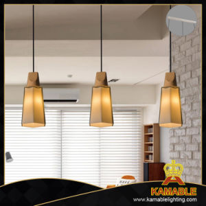 Coffee Shop Decorative Wooden Glass Pendant Lamp (AP9020-3A) pictures & photos