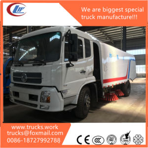 Dongfeng Garbage Container Truck Vacuum Road Sweeper pictures & photos