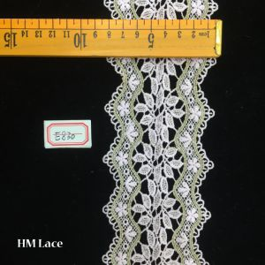 8.5cm Thick Scalloped Lace Trim for Home Decor, Apparel, Accessories, Victorian & Romantic Crafts Hme830 pictures & photos