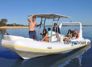Liya 10persons China Semi-Rigid Inflatable Boat Rib Boat for Sale pictures & photos