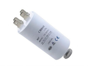 Starting Capacitor AC Motor Run and Start Capacitor (Cbb60 605j 450VAC) with High Voltage pictures & photos