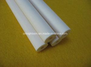 Glazed or Polishing Textile Al2O3 Ceramic Tube pictures & photos
