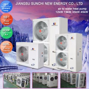 3kw 5kw 7kw 9kw Cop 4.2 Split Heating Heat Pump pictures & photos