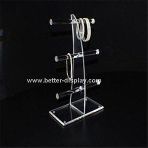 Acrylic Plastic Rotating Earring Display Stand pictures & photos