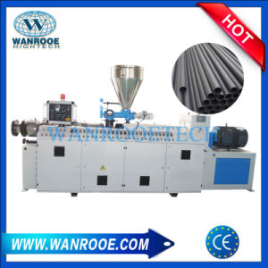 Sjsz Conical Twin Screw Extruder PVC Pipe Making Machine pictures & photos