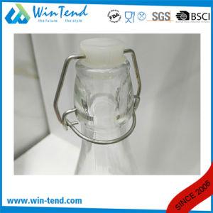 Commercial Restaurant 1L Glass Bottle Jar with Clip Lid pictures & photos