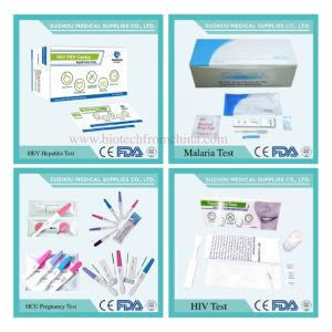 Medical Testing Products for HIV, HCG Pregnancy, HAV/HBV/Hev, Malaria, Tb, Mdma, Gonorrhea, Rapid Test pictures & photos