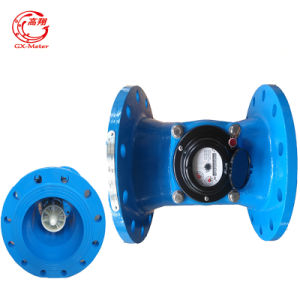 Epoxy Coated Cast Iron Material Turbine Wm Water Meter pictures & photos