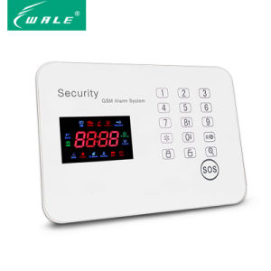 Promotion Wireless GSM Anti-Theft Panel Alarm System with APP Control pictures & photos