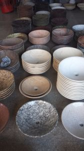 Natural Stone Round Shape Basin pictures & photos