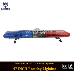Halogen Rotating Police Car Lightbar (TBD-GA-110Z) pictures & photos