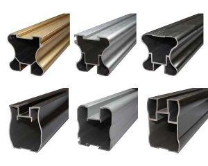 Aluminum/Aluminium Extrusion Profiles for Building Window Door Louver pictures & photos