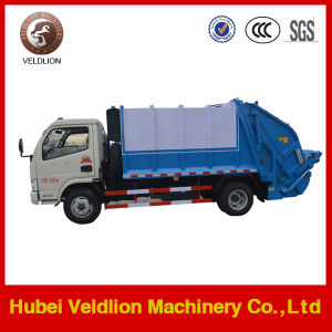 Dongfeng 4X2 Waste Collector Compressed 6m3 Compactor Compress Garbage Truck pictures & photos