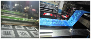 Factory Produce Custom Design Screen Print 22*22inch Cotton Headband Scarf pictures & photos