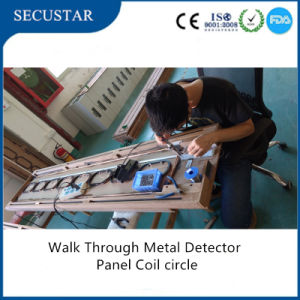Alarm Walk Through Body Scanner with Remote Control and Network Function pictures & photos