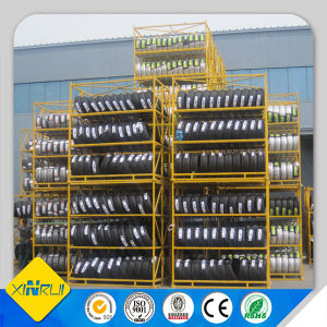 Steel Folding Storage Tyre Tire Rack pictures & photos