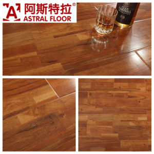Mirror Surface U-Groove Single Click AC3 Waterproof Laminate Flooring pictures & photos