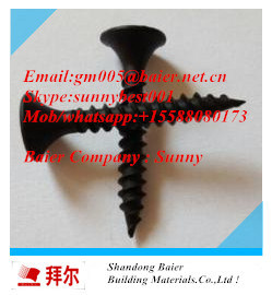 Cheap Prices Black Drywall Screws for Ceiling and Gupsum Board pictures & photos