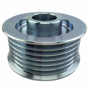 CNC Machining of Metal Belt Pulley pictures & photos