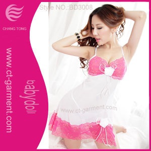 Babydoll Lingerie for Lady/Women′s Inner Wear Underwear (BD3008) pictures & photos