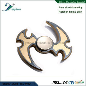 Fashionable Design Gold Moon Machete of Alloy Hand Spinner Fidget Spinner Finger Spinner pictures & photos