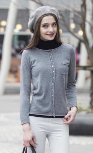 Women Pure Cashmere Pullover Sweater (1500002064) pictures & photos