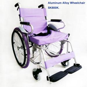 Aluminum Alloy Wheelchair Sk800k