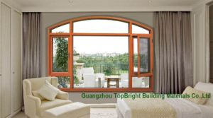 Solid Wood Windows Wood Pictures with Mosquito Net for Sale pictures & photos