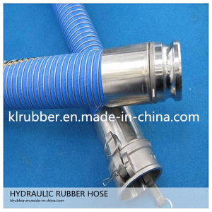 China Enpaker Steel Wire Braided Flexible Rubber Hydraulic Hose pictures & photos