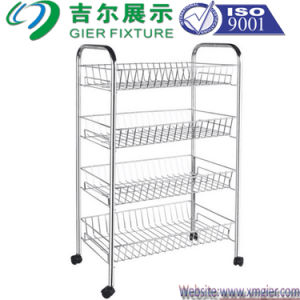 OEM Metal Modern Display Shelf with ISO: 9001 and Sedex (GDS-031) pictures & photos