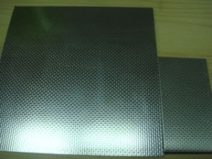 201 304 Linen Embossed Stainless Steel Sheet pictures & photos