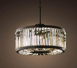 Round Crystal Chandelier Lamp (WHG-810) pictures & photos